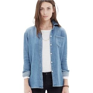 Madewell Homestead Chambray Denim Shirt